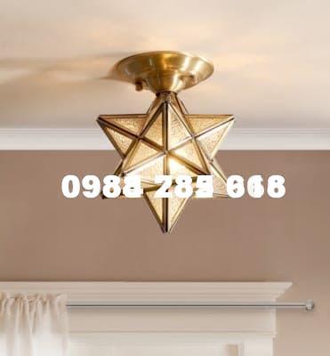 Đèn trần trang trí hình ngôi sao
